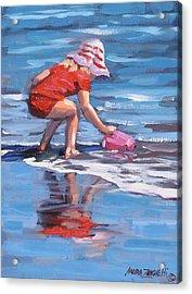 Summer Fun Acrylic Print by Laura Lee Zanghetti