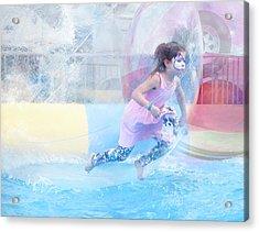 Acrylic Print featuring the photograph Summer Fun by Theresa Tahara