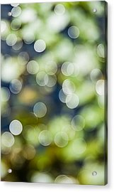 Summer Glitter Acrylic Print