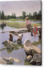 Summer Acrylic Print by Gunnar Berndtson
