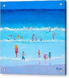 Summer Holiday At The Seaside Acrylic Print