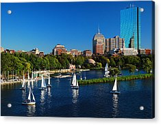 Acrylic Print featuring the photograph Summer In Boston by James Kirkikis