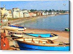 Summer In Dawlish Acrylic Print by Chris Armytage