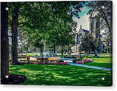 Acrylic Print featuring the photograph Summer In Juckett Park by Kendall McKernon