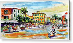 Summer In Sorrento Italy Travel Acrylic Print