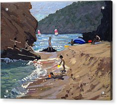Summer In Spain Acrylic Print by Andrew Macara