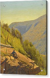 Summer In The Hills 2 Acrylic Print by Jervis McEntee