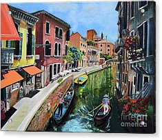 Summer In Venice - Venezia - Dreaming Of Italy Acrylic Print