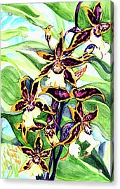 Summer Joy Acrylic Print by Hye Ja Billie
