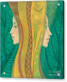 Summer Acrylic Print by Julia Khoroshikh