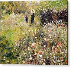 Summer Landscape Acrylic Print by Pierre Auguste Renoir
