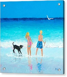 Summer Memories Acrylic Print by Jan Matson