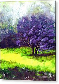 Acrylic Print featuring the painting Summer Mist by Patricia Griffin Brett
