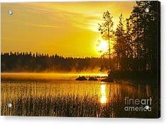 Summer Morning At 3.14 Acrylic Print