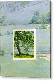 Summer Acrylic Print by Nancy  Ethiel
