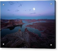 Acrylic Print featuring the photograph Summer Night by Edgars Erglis