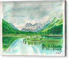 Summer Of Alaska Acrylic Print by Jashobeam Forest
