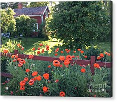 Summer Of Flowers Acrylic Print