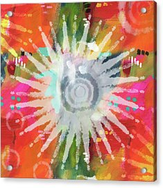 Summer Of Love- Art By Linda Woods Acrylic Print