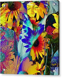 Summer Of Love Acrylic Print by Patric Carter