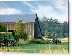 Summer On The Farm Acrylic Print