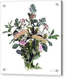 Summer Perrenials Acrylic Print
