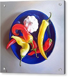 Summer Plate 1 Acrylic Print