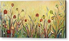 Summer Poppies Acrylic Print