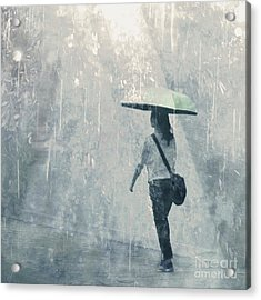 Summer Rain Acrylic Print by LemonArt Photography