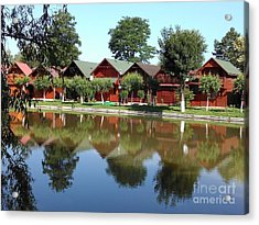 Summer Reflections  Acrylic Print