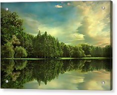 Summer Reflections Acrylic Print by Jessica Jenney