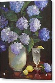 Summer Reprieve Acrylic Print by Melanie Miller Longshore
