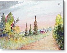 Summer Road Acrylic Print