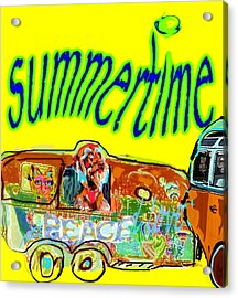 Summer Roadtrips Fun  Acrylic Print