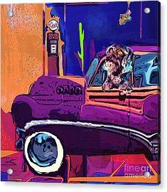 Summer Roadtrips Westward Ho Acrylic Print