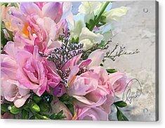 Summer Roses 3 Acrylic Print