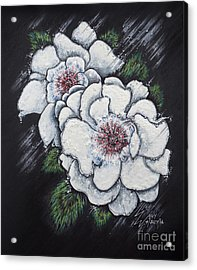 Summer Roses Acrylic Print by Scott and Dixie Wiley