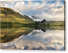 Summer Runrise At Loch Awe Acrylic Print