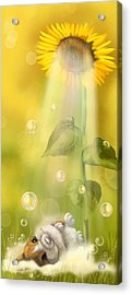 Summer Shower Acrylic Print by Veronica Minozzi