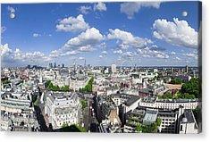 Summer Skies Over London Acrylic Print