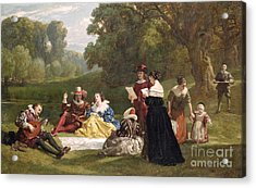 Summer Song Acrylic Print by Frederick Goodall