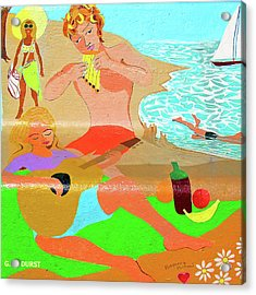 Summer Song Acrylic Print by Michael Durst