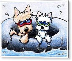 Summer Splash Acrylic Print by Kim Niles