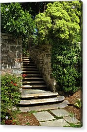 Summer Steps Acrylic Print by Mark Miller
