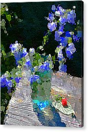 Acrylic Print featuring the photograph Summer Still Life by Vladimir Kholostykh