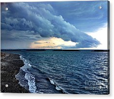 Summer Storm Acrylic Print by Extrospection Art