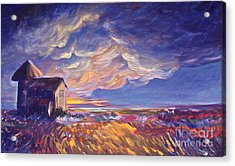 Summer Storm Acrylic Print by Joanne Smoley