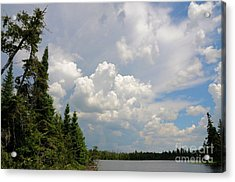 Summer Storm Moving By Acrylic Print