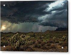 Acrylic Print featuring the photograph Summer Storm  by Saija Lehtonen