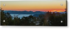 Acrylic Print featuring the photograph Summer Sunrise - Almost Dawn by D K Wall